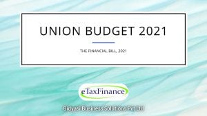 Key Direct Tax Highlights of Union Budget 2021